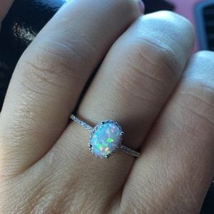 Opal Engagement Ring 💍 Bride on a Budget Jewelry